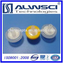Filtres de seringue de 13 mm les plus vendus Taille de pore de PTFE 0.22um hydrophile