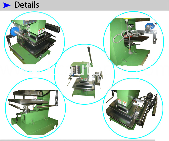 Manual Plain Stamping Machine for Cards