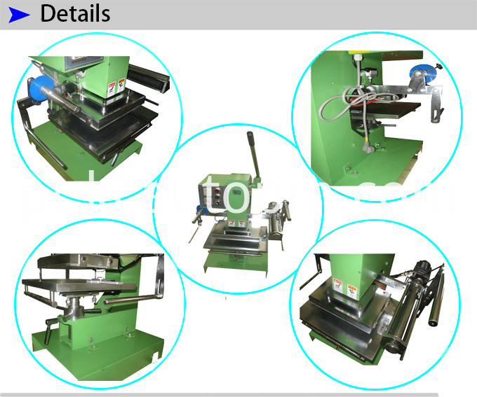 Manual Plain Stamping Machine For Paper