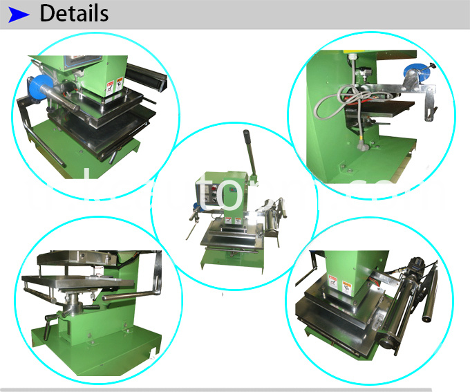 Manual Flat Stamping Machine