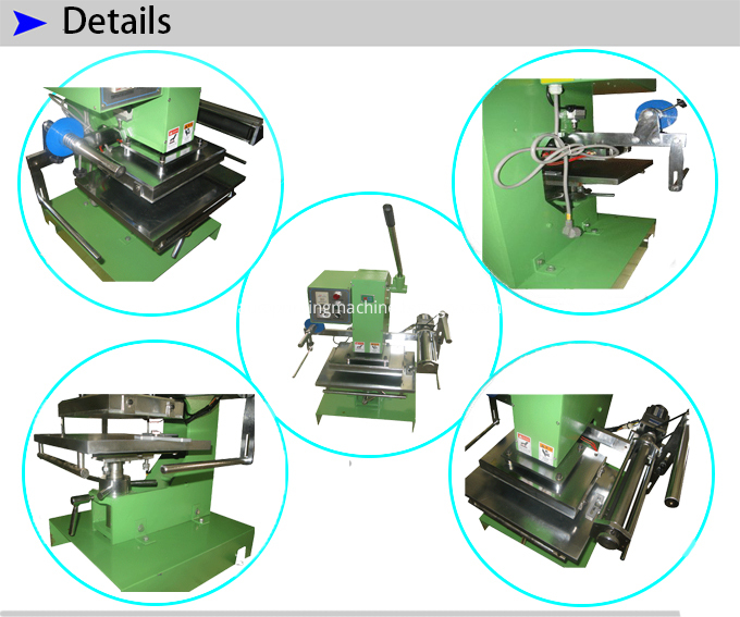 Manual Stamping Machine For Napkins Cloth