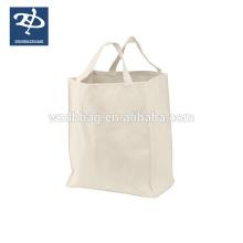 Promocional em branco das sacolas da lona
