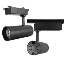 20W hochwertige Aluminium COB LED Schienenleuchte