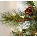 9 FT. Lange Frosted-Tipps Weihnachtsgirlande mit 50 LED-Leuchten (MY205.447.00)