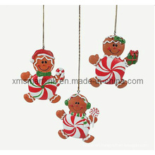 Polyresin Gingerbread Hanging Decoration Gifts