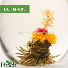 Chinês Mini Floral Florescendo Chá De Baunilha Aromatizado Florescendo Exportação De Chá Para A Rússia