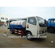 Factory supply Dongfeng 4cbm dung sucking tanker truck