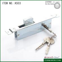 Cerradura de puerta corredera de metal
