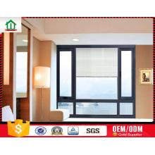 Ventanas de aluminio con persianas internas con control manual Ventanas de aluminio con persianas internas con control manual