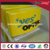 outdoor advertising acrylic embossing light box