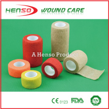 HENSO High Quality Elastic Colored Cohesive Bandage