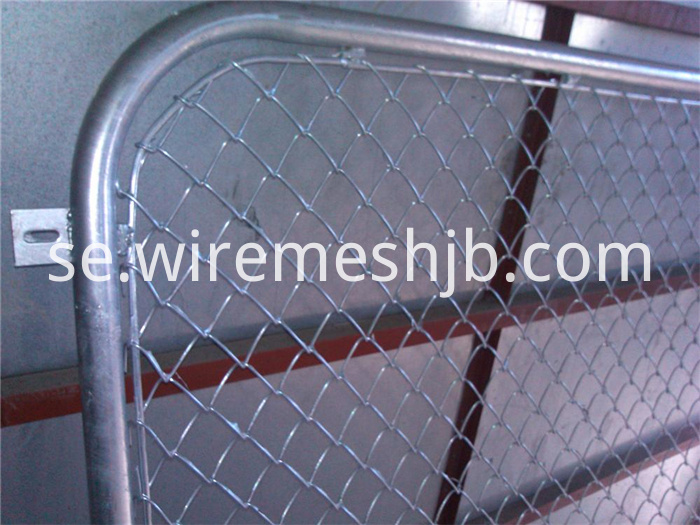 Hot-dip Galvanized Chain Link Fence