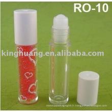 Rouleau d'huile à lèvres sur bouteille 10 ml