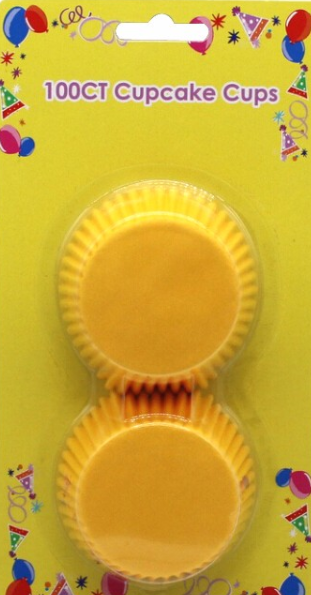 Blister card Standard baking cup