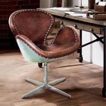 Американский Ретро стул металлический Лебедь кресло компьютерное кресло вращающиеся кресло для отдыха