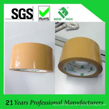 Cinta selladora de cartón de color marrón aprobada por SGS ISO (BOMEI-M16)