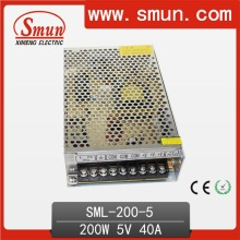 200W 5V 40A Switching Power Supply AC 220V or 110V