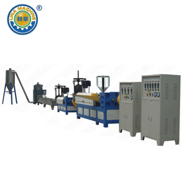 Water Strand Recycled Plastic Flakes Pelletizing Line