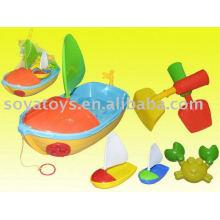 907061206-praia barco modelo de areia brinquedo pá
