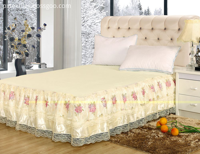 Fitted Bed Skirts for Home