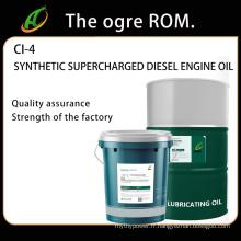 Huile moteur diesel suralimentée synthétique CI-4