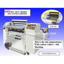 Máquina de corte do rolo de papel do registo de dinheiro