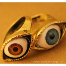 Jóias anel / dedo anelar / moda anéis / jóias forma de forma de olhos (xrg12007)