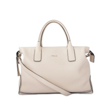 Stylish Leather Bag Neutral Handcrafted Casual Purse