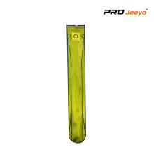 Fluo Yellow LED light PVC Waist Belt