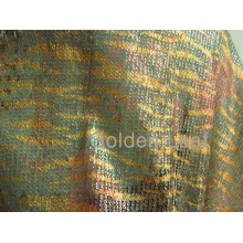 Sequin Embroidery Mesh Fabric Rainbow Color (printing) (JPX1111)