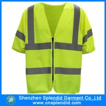 Costume Alta Visibilidade Emergência Segurança Advertência Trabalhador Da Construção Vest