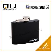 4oz mini coating wholesale hip flask with customized logo