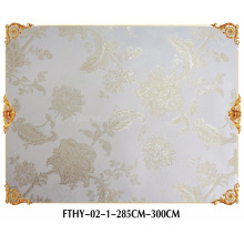 Papier peint décoratif de haute qualité pour l'hôtel, papier peint décoratif pour le restaurant, papier peint 3d pour la décoration à la maison