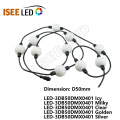 50MM Efeito 3D Cortina String LED Ball Lights