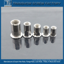 M6-M12 Round Hex Stainless Steel Rivet Nuts