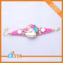 High Quality Magnetic Leather Bracelet For Teenager