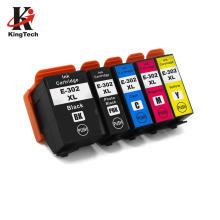 KingTech Premium 302XL 302  Color Cartridge Ink Compatible Ink Cartridge for Printer Deskjet 2130 2135 1110 3630 3632 Officejet 3830 3834