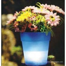 Vaso de flor decorativa LED China Manufactuer especial Design