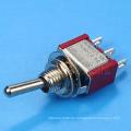 MTS-102 6A 6MM Einpolig ON ON 2-Wege-Standard-Kippschalter 3 Pin
