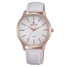 SKONE 9343 couple lover Watches for valentine's gift With PU Strap