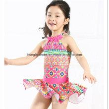 Kleine Mädchen Mode Rüsche Bademode