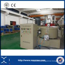 Máquina de mezcla de alta velocidad automática del PVC de 300 ~ 600 Kg / H