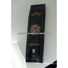 Coffee bags with Valve and side gusset design ,stand up design and so on
