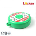 Colorful Red Green Safety Gate Valve Lockout