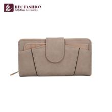 HEC 2018 nouveau design dames cuir sac à main portefeuille en cuir pour les femmes