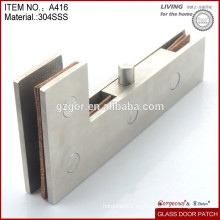 Ajuste de parche de cristal de la puerta del acero inoxidable 304 en China