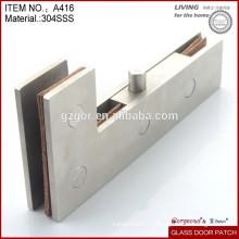 304 нержавеющая сталь стеклянная дверь патч фитинг в Китае