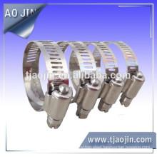 All SUS 316 oem sheet metal stamping part hose clamp factory