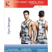 Men Clothing Sleeveless Fitness Sportwear Gym Vest Stringers Men Tank Tops Stringers