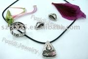 sea shell jewelry set